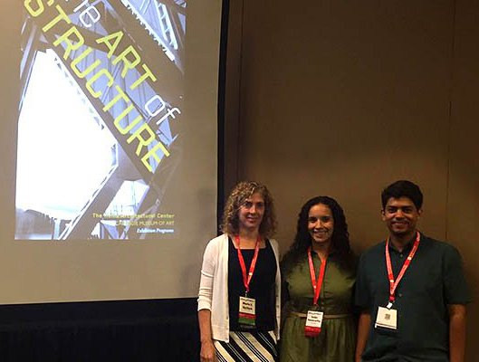 Three students at 2016 ASEE Conference
